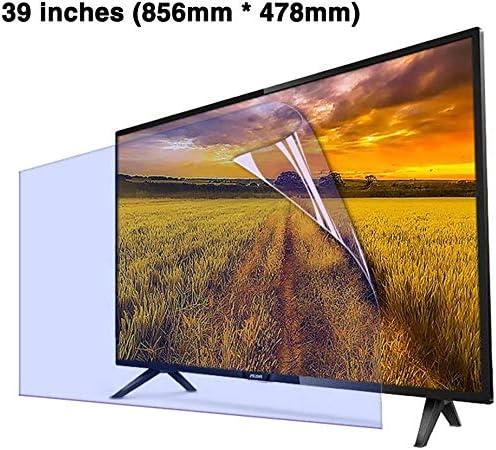DPLQX 39 Pulgadas Anti-Azul de televisión Luz Protector de la Pantalla Archivo/Protección de los Ojos/Ultra-Claro de la Pantalla LED Protector, Anti-Huella Digital de la Mancha de petróleo,A: Amazon.es: Hogar