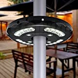 Patio Umbrella Light,eTopxizu Cordless Table Mount