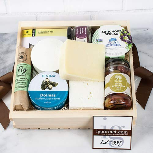Authentic Flavors of Greece Gift Basket (3.7 pound)