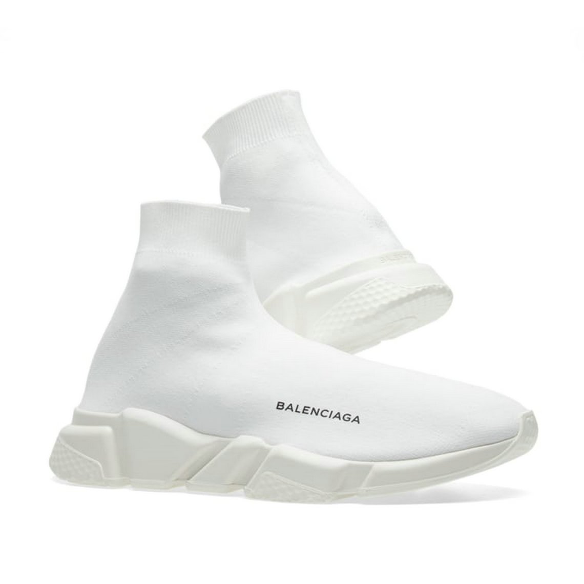 0786e8607 TOPSHOD Unisex Mens Womens Balenciaga Speed Trainer Sneaker White: Amazon.co .uk: Shoes & Bags