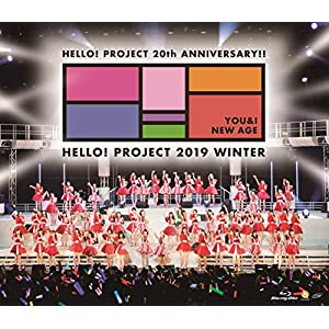 Blu-ray Disc. Hello! Project 20th Anniversary!! Hello! Project 2019 WINTER ~YOU & I NEW AGE~