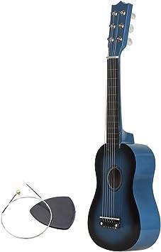 Gesteam Guitarra Pequeña Fácil de Aprender Tono Elegante Guitarra ...