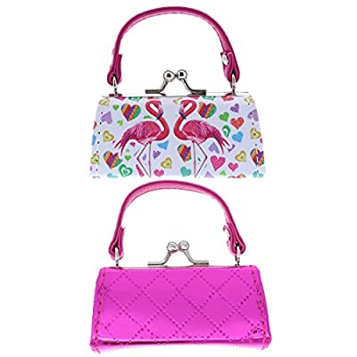 9abd4e4f2924 outlet Lipstick Case with Handle - Set of 2 - Hot Pink Flamingo ...