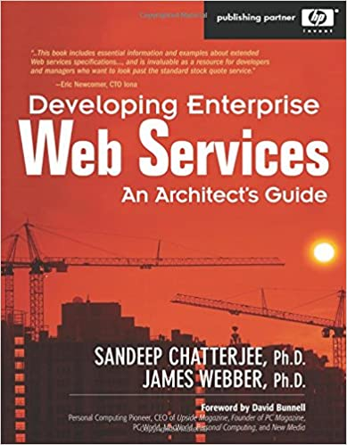 Developing Enterprise Web Services book cover