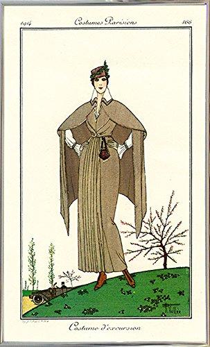 Frame USA Costumes Parisiens of 1914, Women's Fashion-PRIPUB130969 9.25