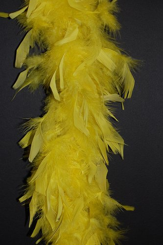Zucker Feather (TM) - Chandelle Boas Solid Colors - -