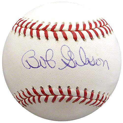 Bob Gibson Autographed Signed Memorabilia Official MLB Baseball St. Louis Cardinals - Beckett Authentic