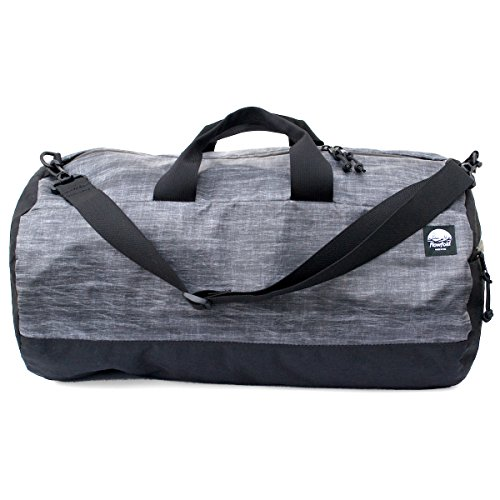 Flowfold Conductor Duffle Bag - Ultralight Travel Bag - Made in the USA - Heather Grey made in New England