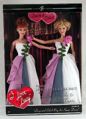 Barbie - Lucy and Ethel Buy the Same Dress Giftset - Episode