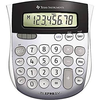 Image of Basic Texas Instruments TI-1795 SV Standard Function Calculator / 12 Pack