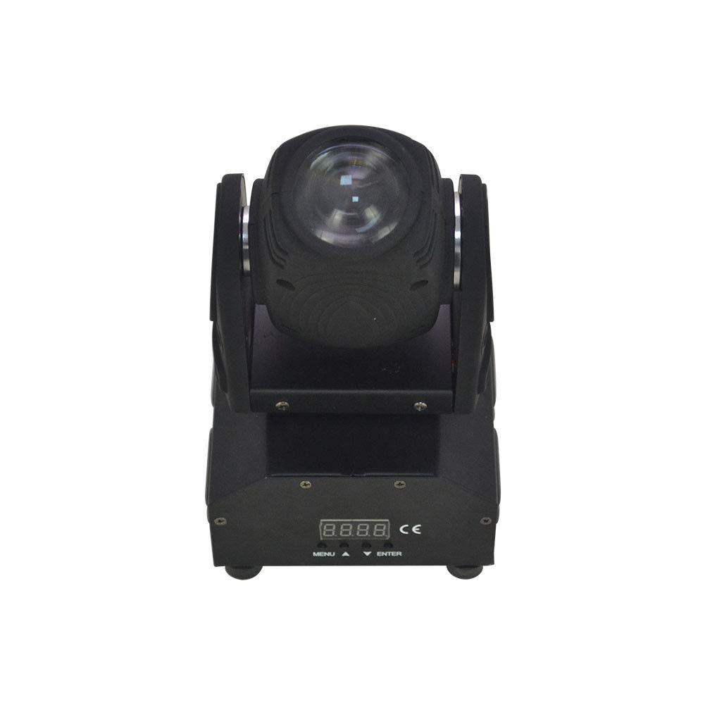 10W RGBW LED Moving Head Light DMX-512 DJ Club Disco Stage Party Lamp