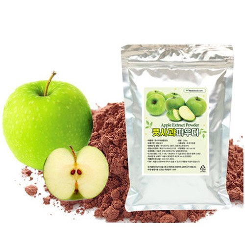 [Jeongwoodang]Green Apple Extract Powder 17.6Oz/Designed for Polyphenol Diet/Apple Diet/Weight Loss
