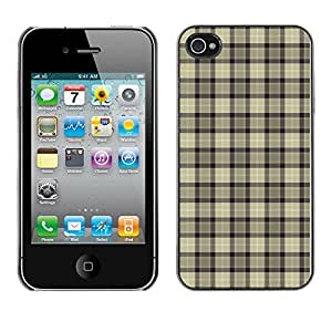 ZECASE Funda Carcasa Tapa Case Cover Para Apple iPhone 4 / 4S No.0002692
