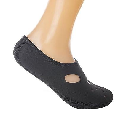 forfar agua deportes neopreno buceo 1 par natación calcetines calcetines antideslizante playa calcetines natación surf adultos