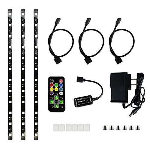 HitLights Eclipse Light Strip Black product image
