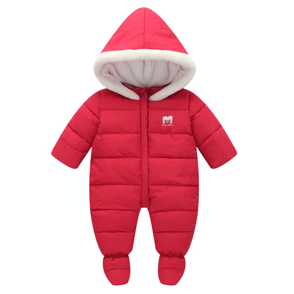 Tortor 1bacha Infant Baby Girl Boy Winter Puffer Footed Snowsuit Pram Bunting XHQ