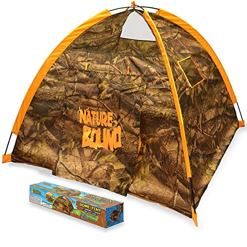 Nature Bound Kids Large 2 Person Playhouse Dome Tent for Indoor or Outdoor Play, 47 Inches Long, 47 Inches Wide, 35…