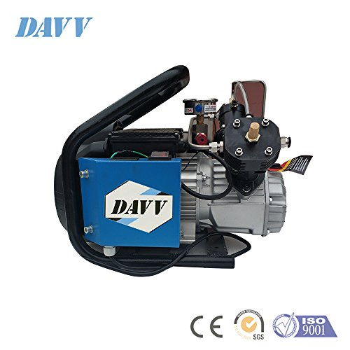 Davv D Machinery 110v 300bar High Pressure Air Compressor Paintball Fill Station for PCP Game