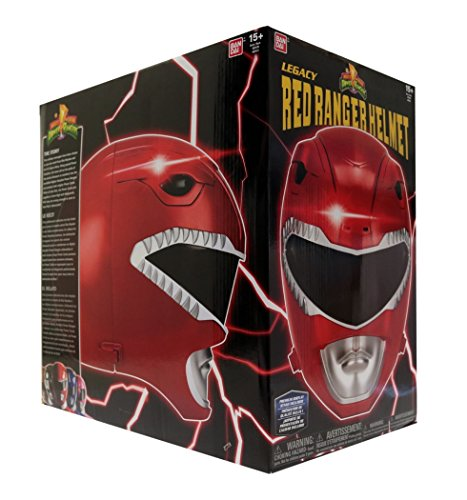 Power Rangers Mighty Morphin Legacy Ranger Helmet Red