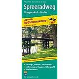 Spreeradweg, Neugersdorf - Berlin: Leporello Radtourenkarte mit Ausflugszielen, Einkehr- & Freizeittipps, wetterfest, reissfest, abwischbar, GPS-genau. 1:50000 (Leporello Radtourenkarte / LEP-RK)