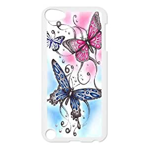 [H-DIY CASE] FOR Ipod Touch 5 -Beautiful Butterfly Pattern-CASE-8