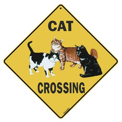 - CROSSWALKS Cat Crossing 12