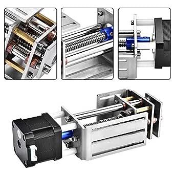 Z-Axes Slide DIY Fresado Carril de guía de movimiento lineal para carpintería Máquina de grabado CNC 60MM: Amazon.es: Industria, empresas y ciencia