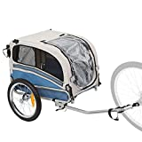 Rage Powersports 2-in-1 Small Dog Bicycle Trailer and Jogging Stroller