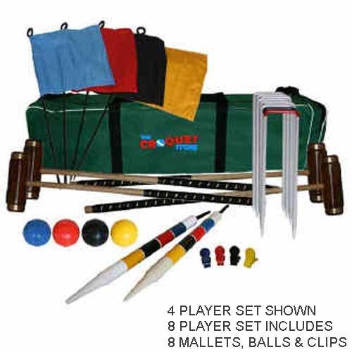 Kensington Croquet Set 8 Player by The Croquet Store