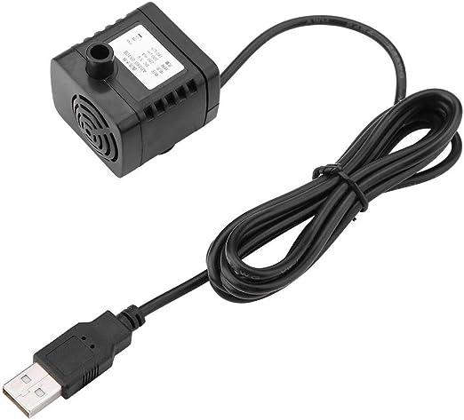 TOPINCN USB DC 5 V Bomba sin escobillas pequeña Pet Mini ...