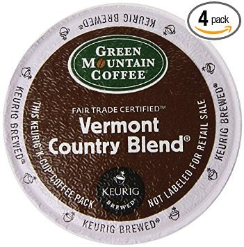 Country Green - Green Mountain Coffee Fair Trade Vermont Country Blend K-Cup (96 count)