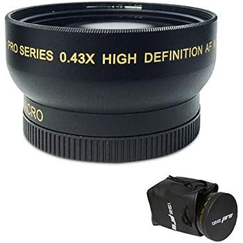 I3ePro  .43x Wide Angle/Macro Lens for Canon