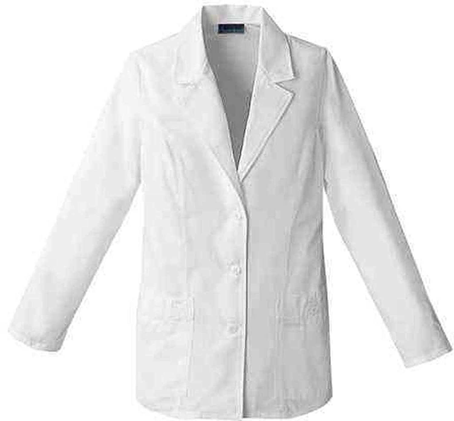 Amazon.com: Cherokee Professional Whites by Women's Daisy Embroidered  29&Frac12; Lab Coat: Science Lab Coats And Jackets: Clothing