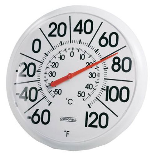 Taylor Indoor/Outdoor Thermometer (8.5-inch) (Thermometer Outdoor Round)