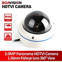 High Quality Full View 180/360 Degree Fisheye 2.0MP Panoramic HDTVI Camera Outdoor 1080P Lens CCTV