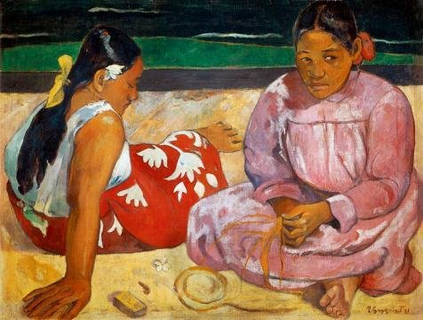 Oil Painting 'Paul Gauguin-Tahitian Wome - Bullet Style Patio Heater Shopping Results