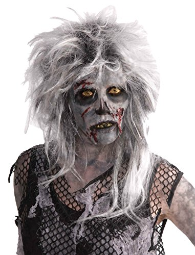 UHC Wild Zombie Monster Adult Scary Horror Halloween Costume Party Wig ()