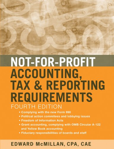 Download Not-for-Profit Accounting, Tax, and Reporting Requirements Pdf