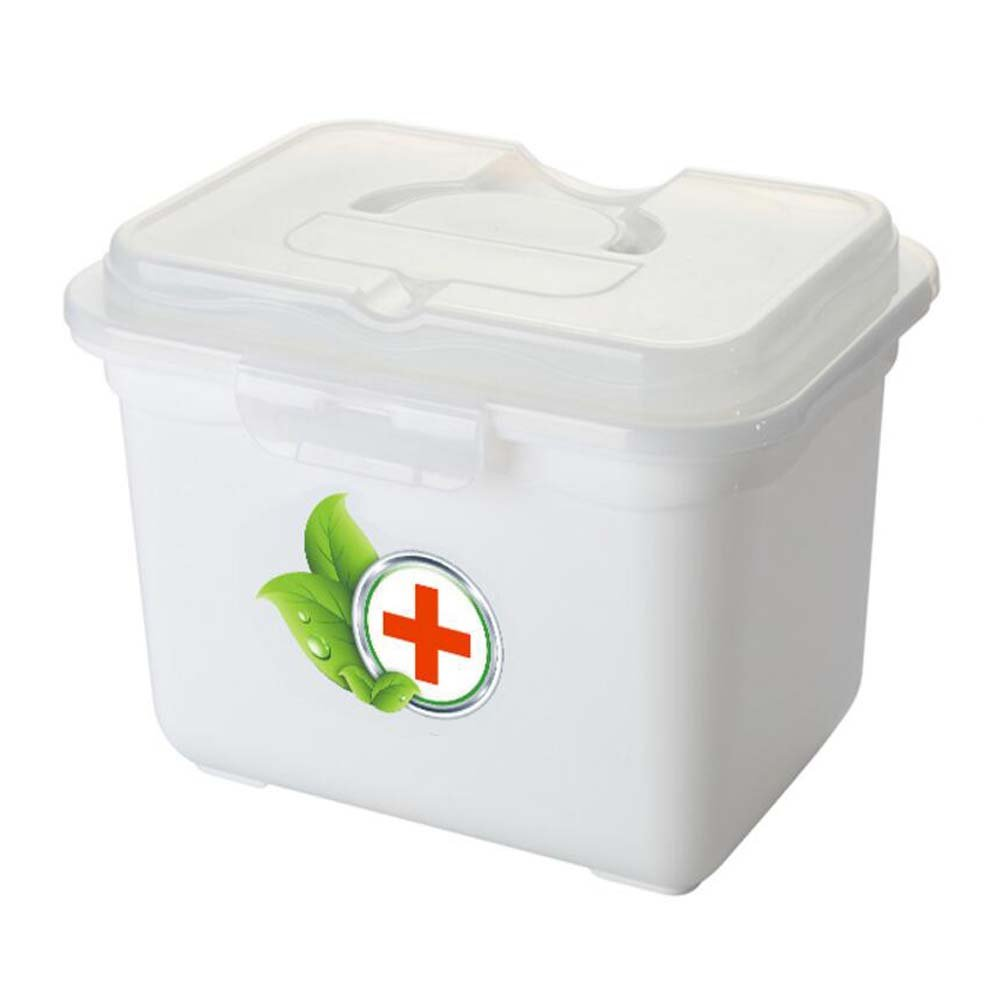 Creative Multi-cell Portable Medicine Kit Travel Medical Box,White   B072XBMCZX
