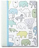 "C.R. Gibson Animal Themed Newborn and Baby Memory Book by DwellStudio, 9"" x 11.125"""
