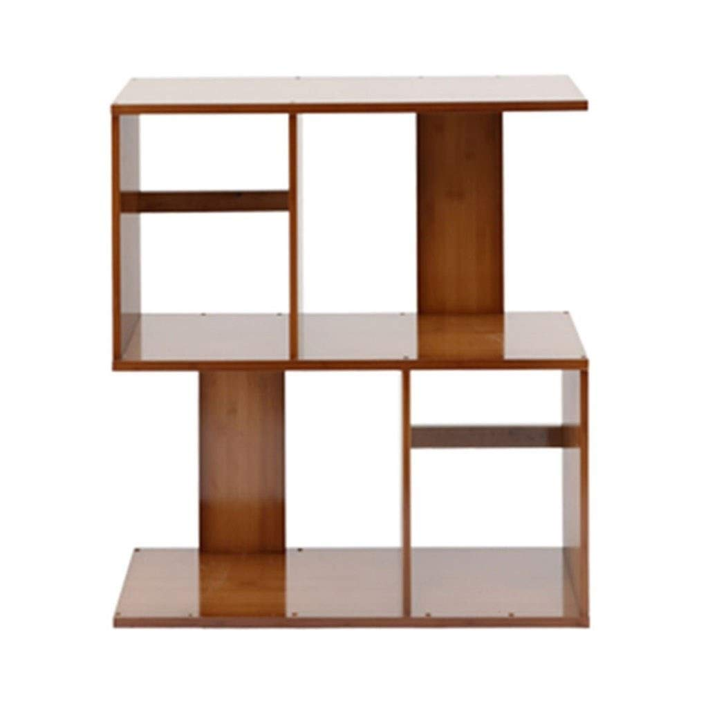 Book Accessories Student Bookshelf Modern Minimalist Rack Living Room Floor Bookcase Free Combination Creative Small Bookshelf (Color : Brown, Size : 602468cm) by Book Stands