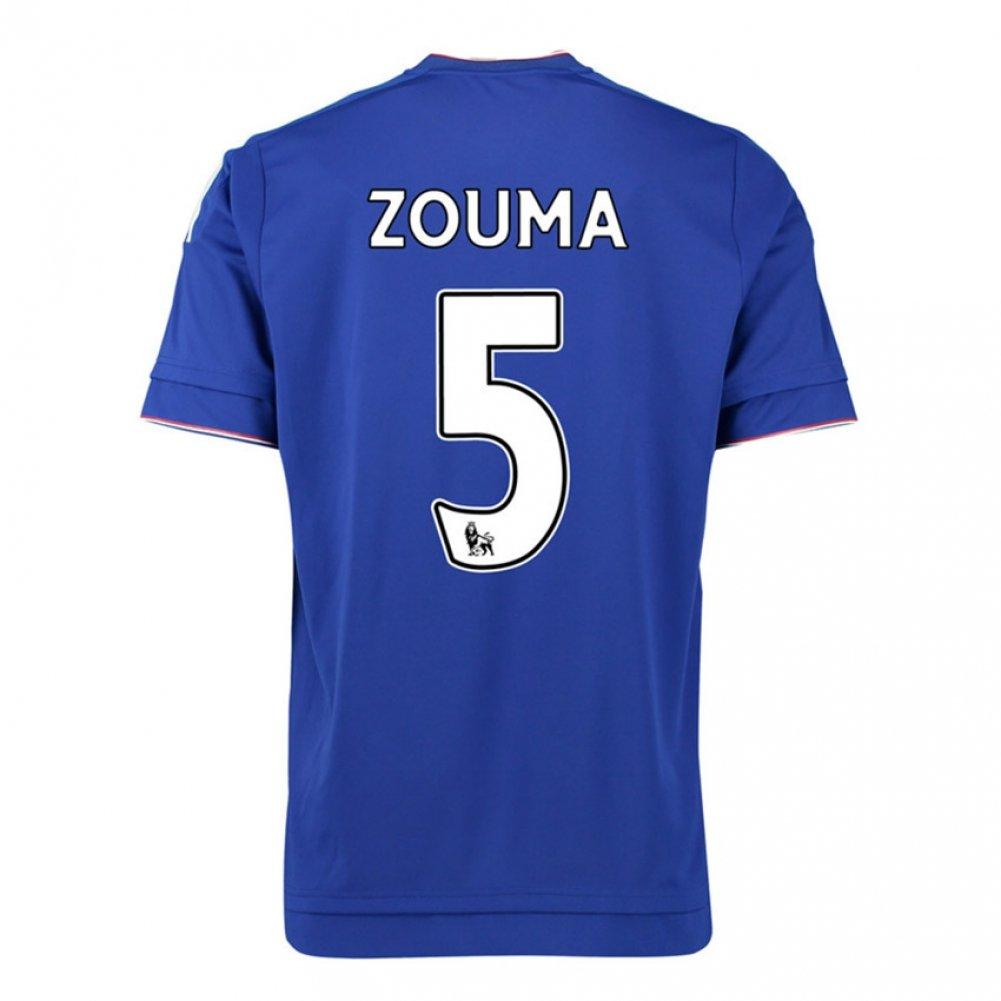 2015-16 Chelsea Home Shirt (Zouma 5) B077VSCXLPRed Small 36-38\