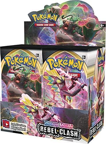 Store Prerelease Pokemon REBEL CLASH SEALED CASE Energy Box Booster 10 Kits