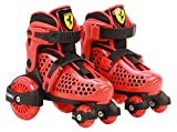 Ferrari FK10-1RED2629 My First Skate Combo Set, Red, Size 26-29
