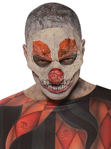 Underwraps Evil Clown Mask