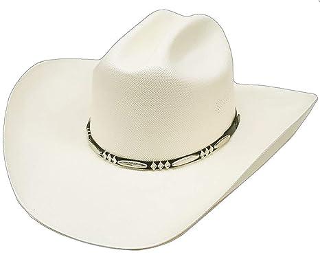 Modestone Traditional Bangora Rodeo Straw Chapeaux Cowboy  Amazon.fr ... e90c37d76b9