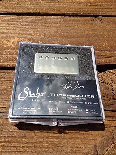 SUHR Thornbucker PAF Neck Rhythm Humbucker Pickup Raw Nickel 50mm - Pete Thorn Signature Model (Humbucker Rhythm)