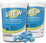CREW CBD540731 Toilet Bowl Cleaner Easy Paks, Packets Foam & Dissolve to Leave Toilet & Urinal Sparkli