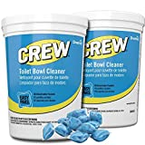 Diversey Crew Easy Paks Toilet Bowl Cleaner, 2 Tubs x 90 Dissolvable Packets.5 oz. Packet (180 Total Dissolvable Packets)