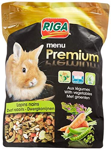 Riga 2407 – Menu Premium – Conejos Enanos (vitaminas y Fibras, 500 g)